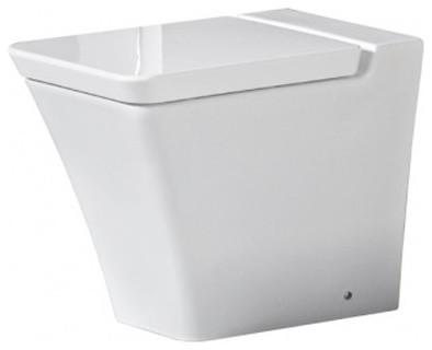 Rak Opulence Back-To-Wall WC Pan With Soft Close Seat