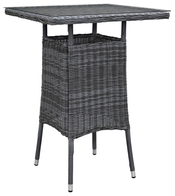Patio Pub Tables Shop Allen Roth Safford 40 In Brown  : tropical outdoor pub and bistro tables from joshandira.com size 572 x 640 jpeg 75kB