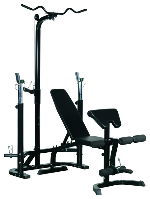 Soozier Olympic Weight Bench Black