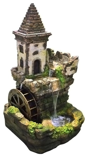 Castle Tiered Fountain 35 Quot Indoor Fountains By Alpine