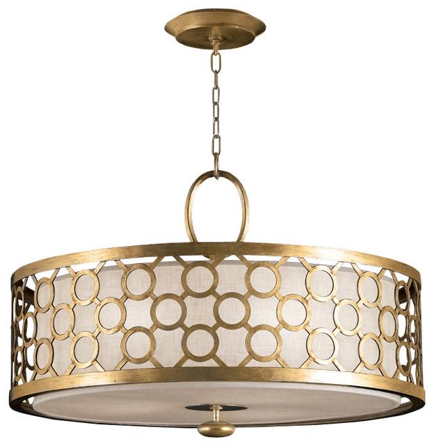 Fine Art Lamps Allegretto Gold Pendant