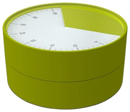 Joseph Pie Kitchen Timer Green Modern Timers