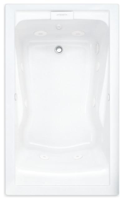 American Standard 60 Inch by 36 Deep Soak Bathtub in White, 2771V418C.020