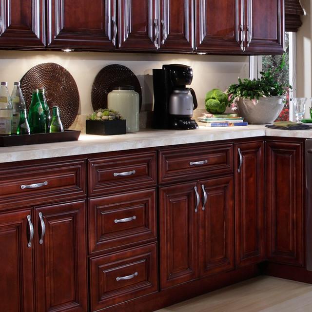 B.Jorgsen & Co. St. James Mahogany Kitchen Cabinets