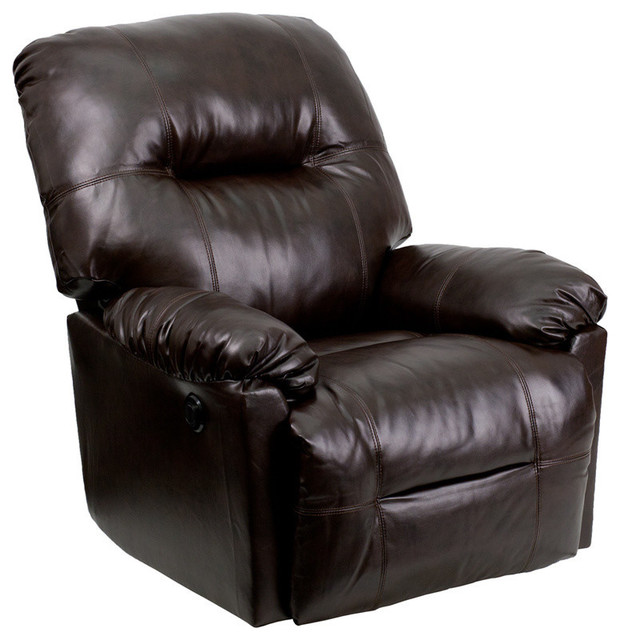 Chocolate Power Recliner, Brown by Flash Furniture