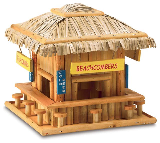 beach hangout birdhouse eclectic birdhouses by koolekoo. Black Bedroom Furniture Sets. Home Design Ideas