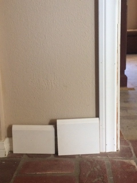 What Size Baseboards With 2 5 Quot Casings