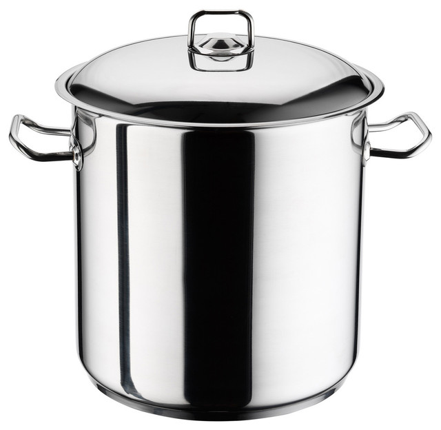 Ybm Home Stainless Steel Stockpot With Lid, 22 Quart.