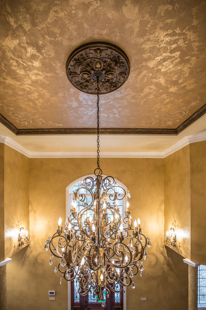 Custom Foyer Ceiling Painting Traditional Chicago By