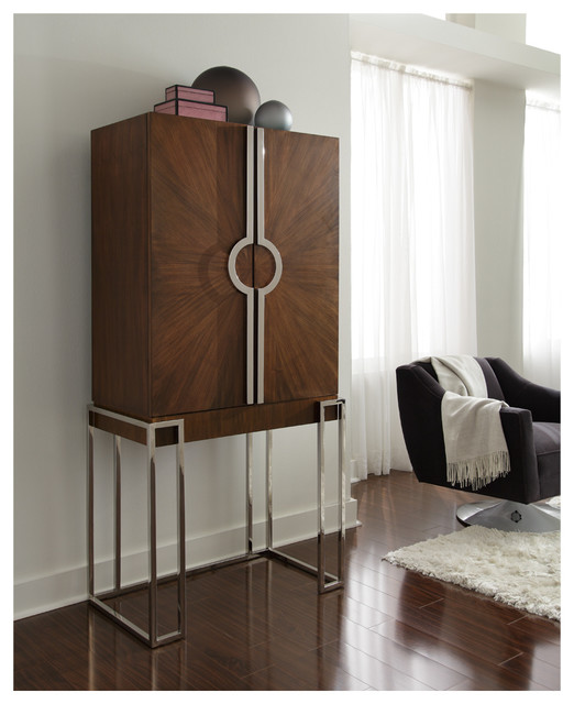 Collins Bar Cabinet - Modern - Wine And Bar Cabinets - Charlotte - by Mitchell Gold + Bob Williams