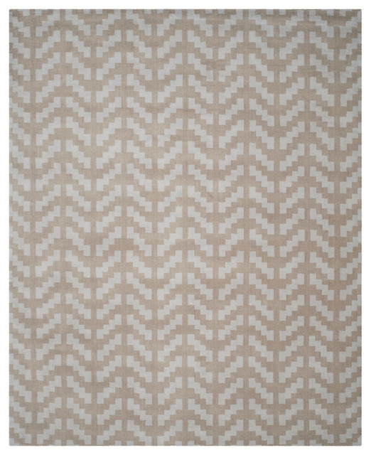 Safavieh Maison Hand-Tufted Rug, Gray And Taupe, 8&x27;x10&x27;.
