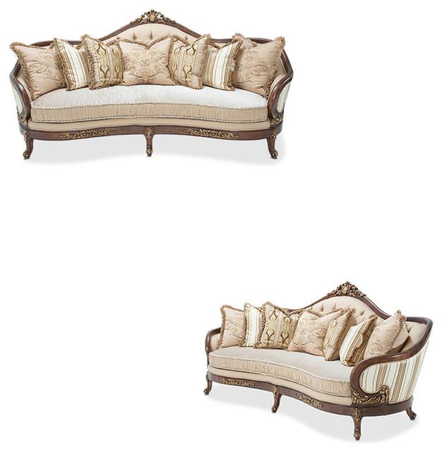 Villa Di Como Sofas Set 2 Piece Set Traditional Living Room Furniture Se