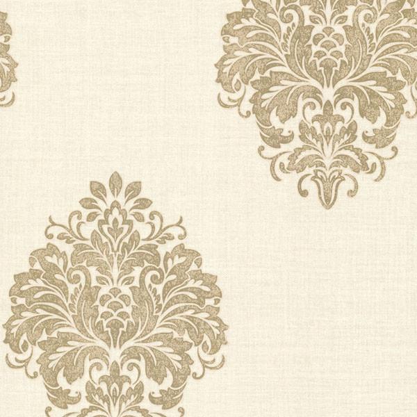 Duchess Gold Damask Wallpaper Bolt traditional-wallpaper - Duchess Gold Damask Wallpaper - Traditional - Wallpaper - By