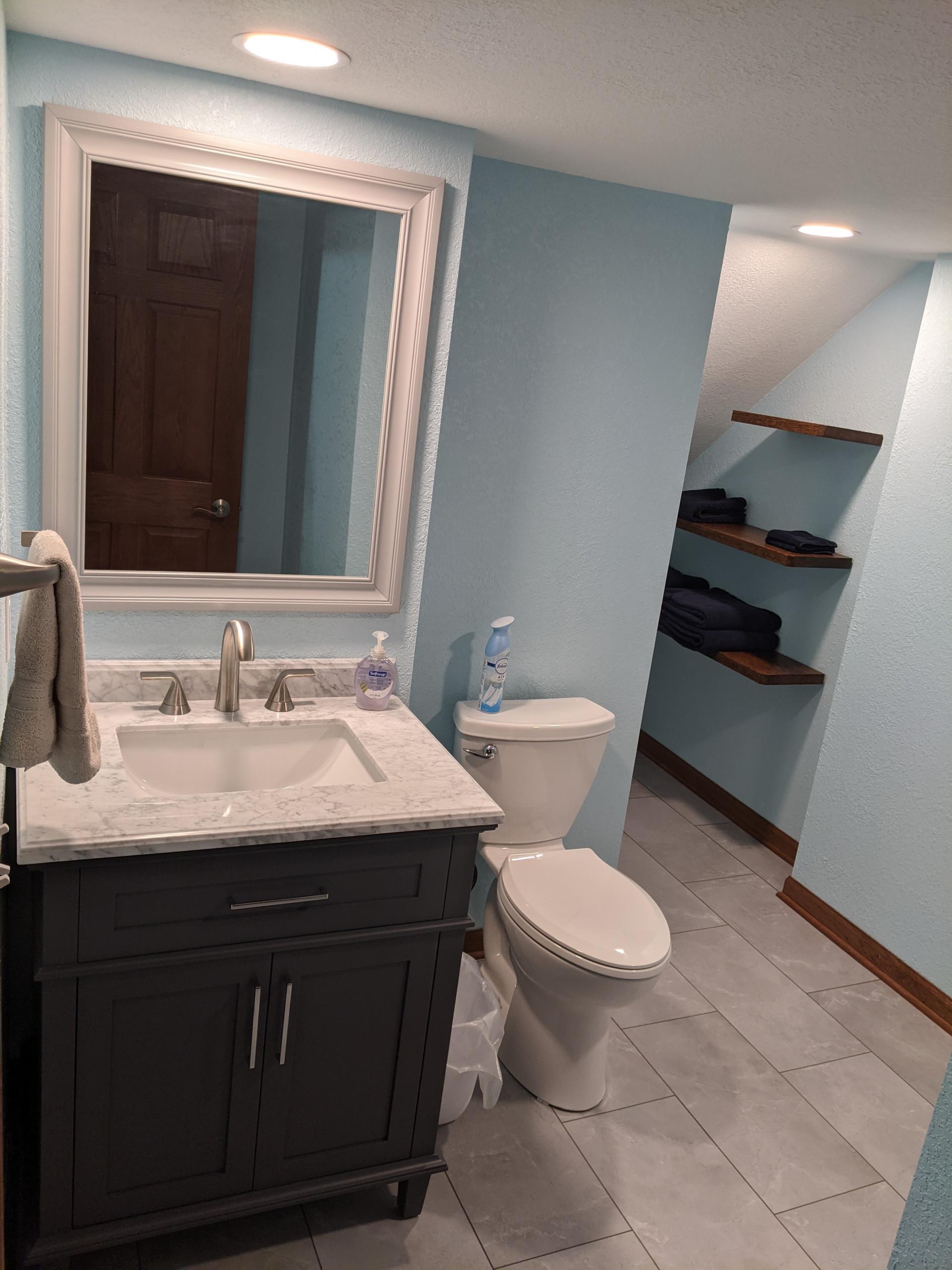 Bathroom Addition & Remodel - Cedarburg