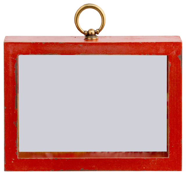 Brooks Wood Frame Red 5x7 Farmhouse Picture Frames By