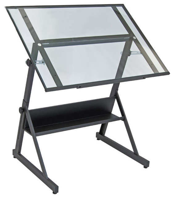 """Offex Solano Adjustable Drafting Table, 42""""."""