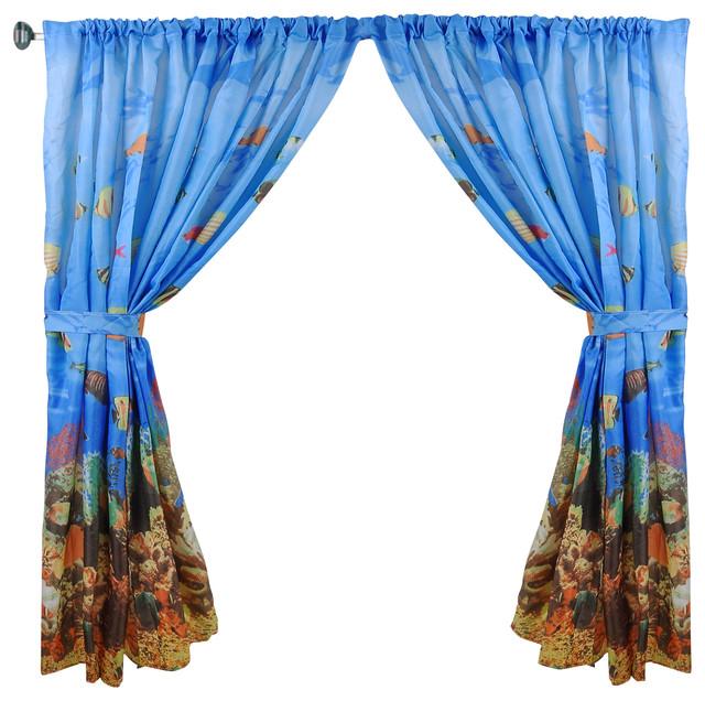 Sea World Ocean Window Curtain