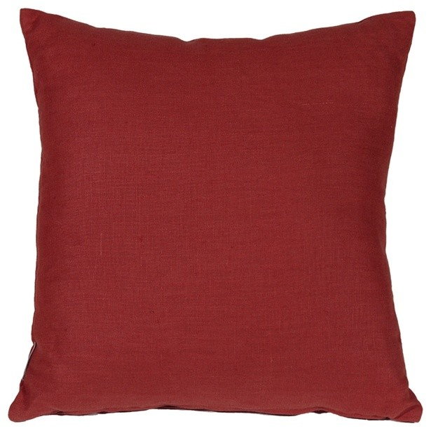 Pillow Decor - Tuscany Linen Red 17 Throw Pillow - Contemporary - Decorative Pillows - by Pillow ...
