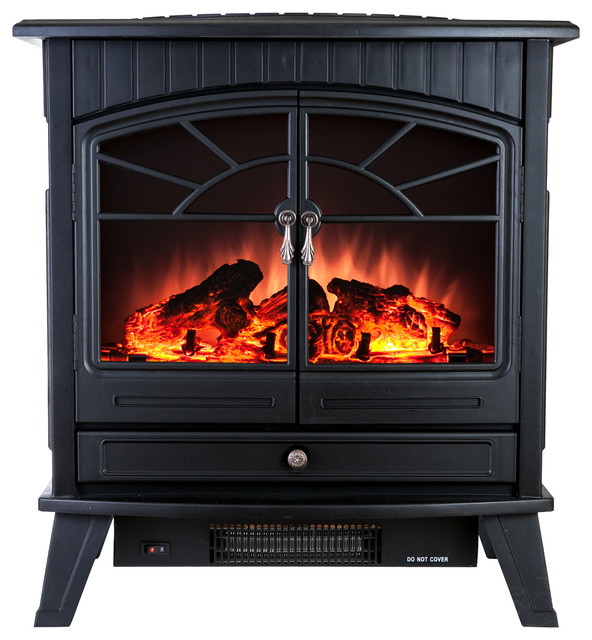 Akdy 23 Portable Free Standing Electric Fireplace Transitional Indoor Fireplaces By Home Improvement