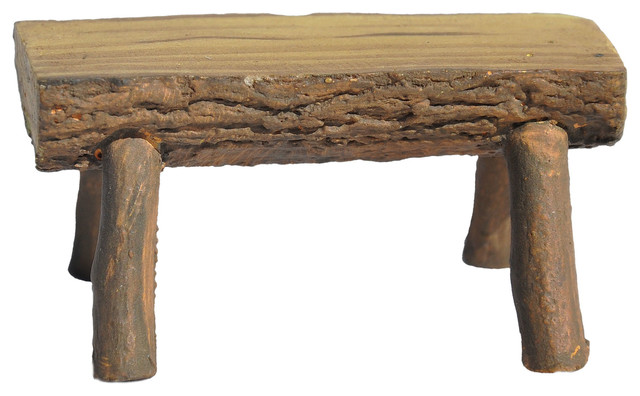 Fine Log Bench For Miniature Garden Fairy Garden Ibusinesslaw Wood Chair Design Ideas Ibusinesslaworg