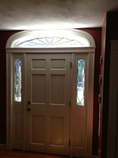 Entry Door With 12 Inch Rough Opening For Transom
