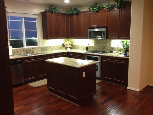 replacing the kitchen island countertop light or dark how to install a kitchen tile backsplash ehow