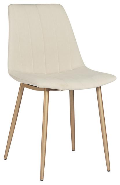 Sunpan Drew Dining Chair, Set of 2, Linen