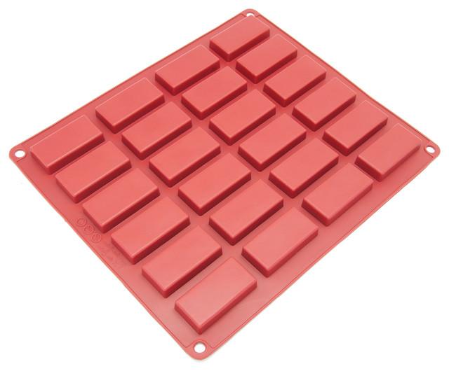 Freshware 24-Cavity Silicone Financier Mold