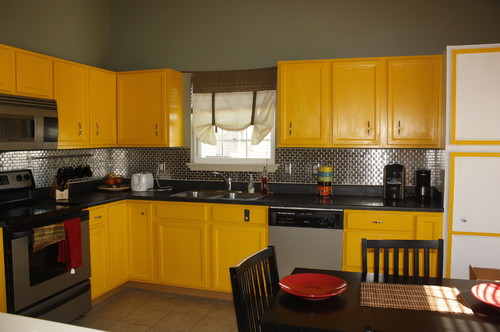do we need to repaint our yellow kitchen cabinets for sale help needed - Yellow Kitchen Cabinets