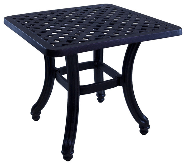 Barcelona Accent Table Traditional Outdoor Side Tables