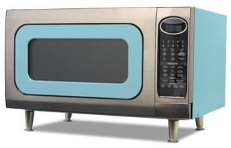 Big Chill Retro Microwave 24 in. wide - Beach Blue