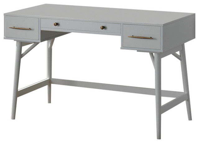 Coaster Writing Desk, White Finish 800745.