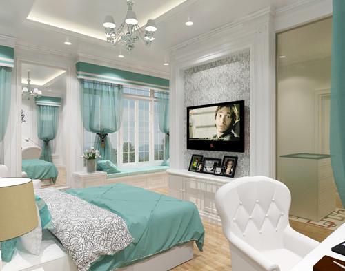 English Concept Master Bedroom
