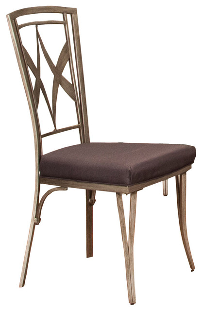 shop houzz titanic furniture inc modern metal chair dining chairs. Black Bedroom Furniture Sets. Home Design Ideas