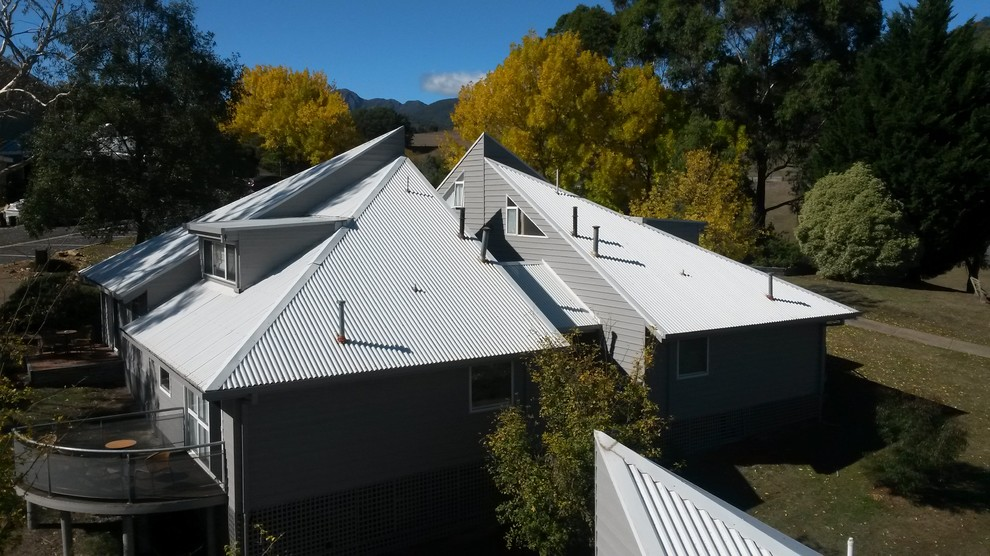 Roof treatments for designed homes