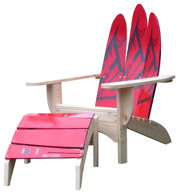 sc 1 st  Houzz & Water Ski Skichair and Ottoman - Adirondack Chairs - by Skichair1