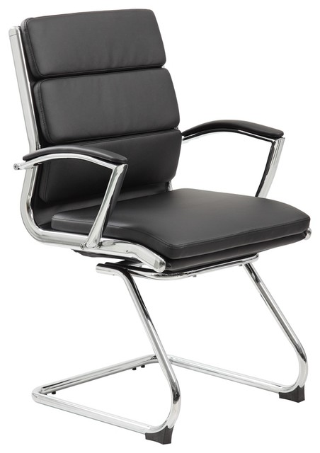 Boss Office Furniture Executive Caressoftplus Chair With Metal Chrome