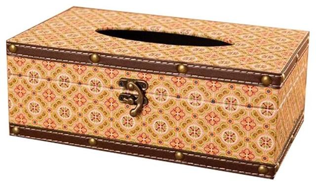 European Retro Style Tissue Box Napkin Holder Paper Case Cover Home Decor Hot