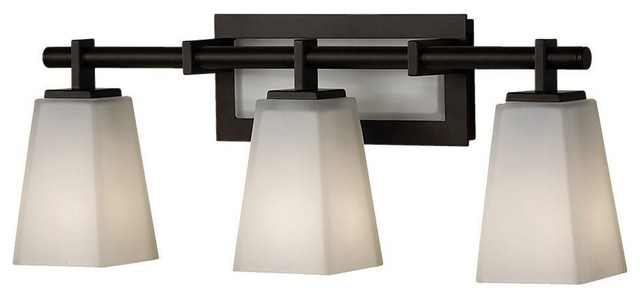 Murray Feiss Clayton Bathroom Lighting Fixture, Oil Rubbed