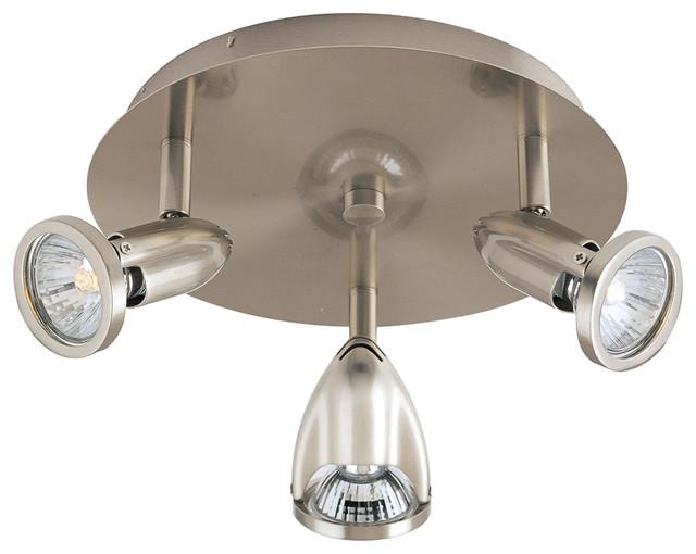 ET2 Contemporary Lighting Agron 3 Light Flush Mount