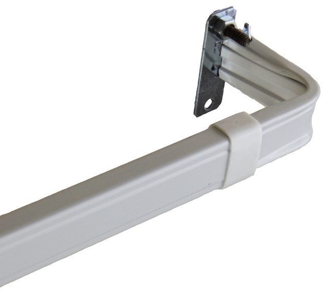 "2"" Clearance Single Lockseam Curtain Rod, 48-84"""