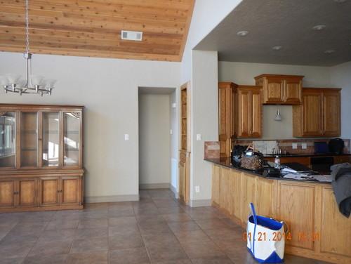 Hot Mess Lake House Kitchen