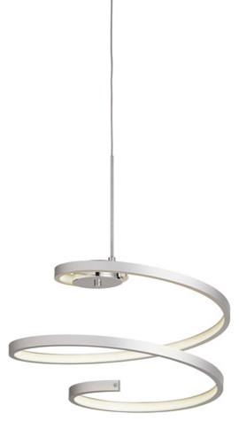 Elan 83575 Tintori Pendants Chrome Steel, Chrome/oxidised Silver.
