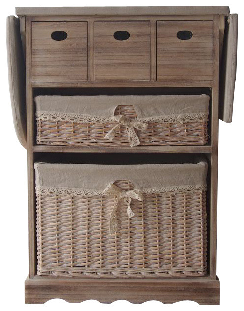 Camille 3 Drawer Cabinet With Ironing Board
