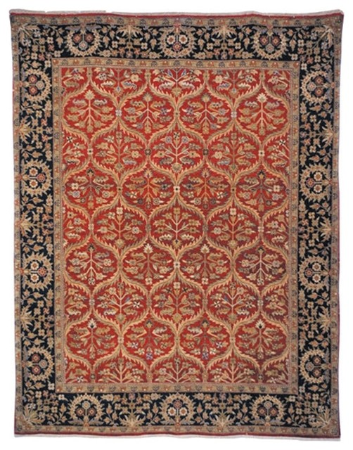 Safavieh Old World Ow119a Red Navy Area Rug Traditional