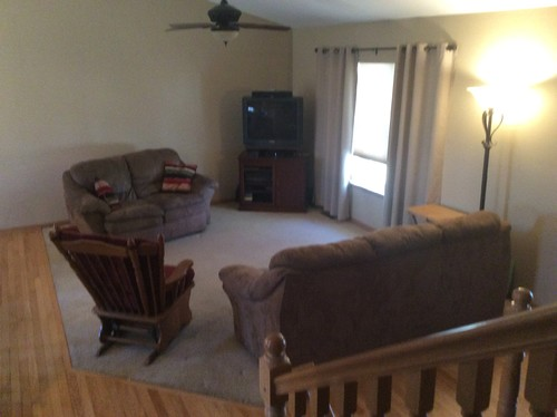 Need help w/ open room - living room furniture arrangement and ideas f