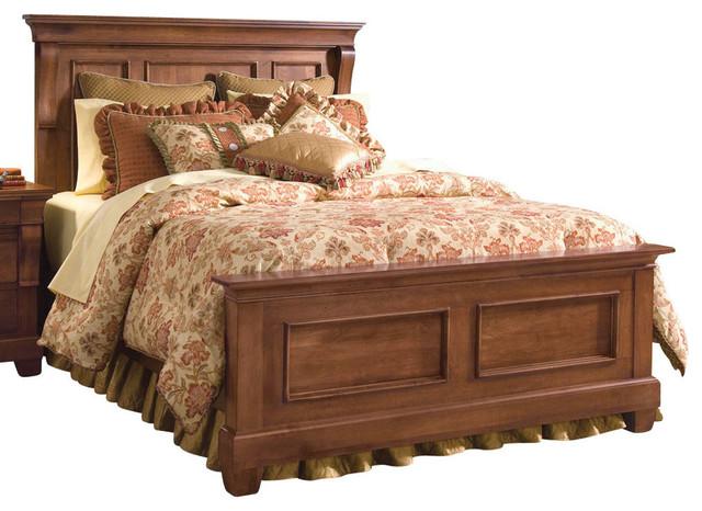 Kincaid Tuscano Solid Wood King Panel Bed.