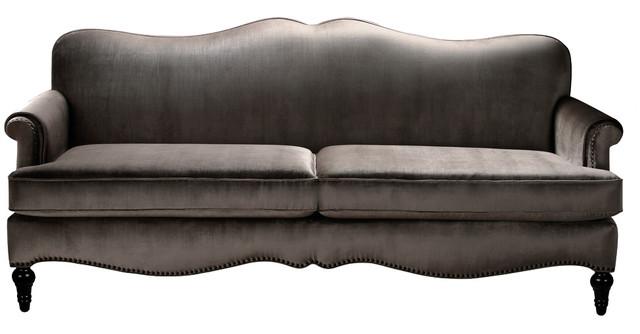 Legacy Camelback Sofa, Gray