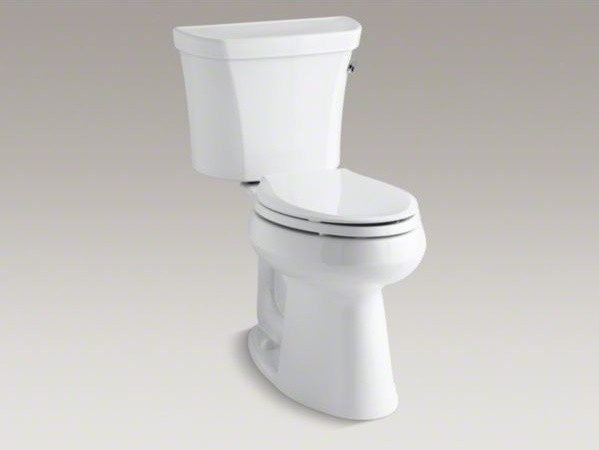 Kohler Toilets Uk : ... elongated 1.28 gpf toilet with Cl - Contemporary - Toilets - by Kohler