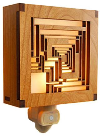 Frank Lloyd Wright Ennis House Night Light